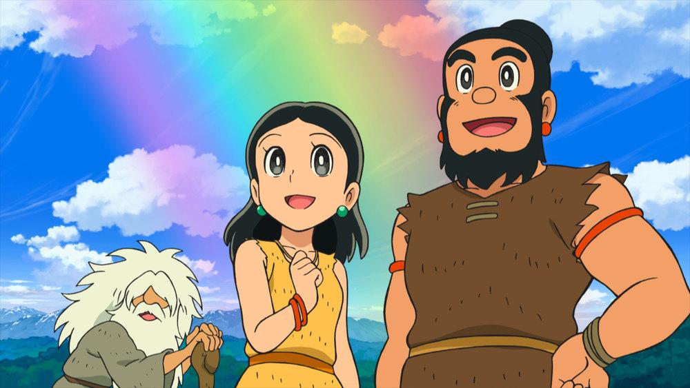 Doraemon Il film: Nobita e la nascita del Giappone - Una scena del film animato