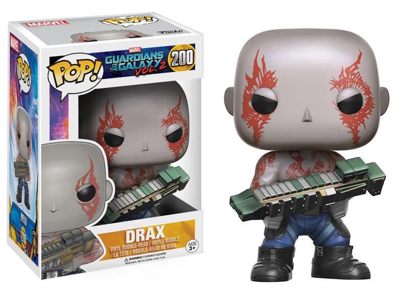 Guardiani della Galassia 2: il merchandise Funko
