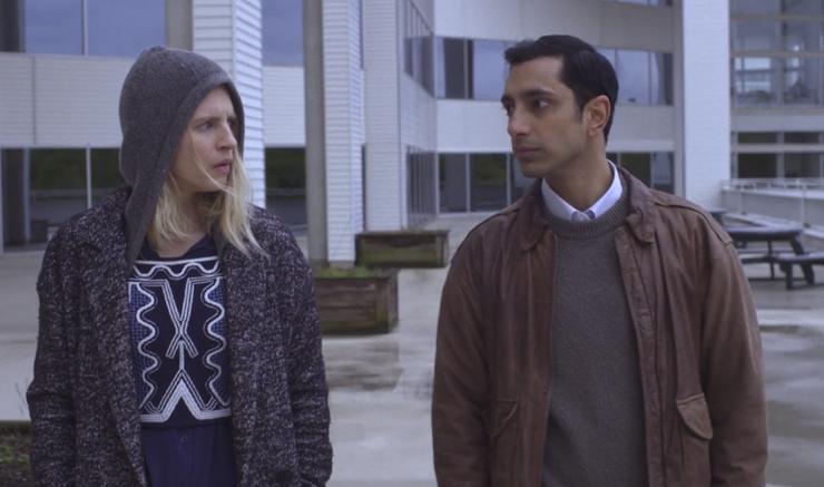 The OA: Brit Marling e Riz Ahmed in una foto della serie