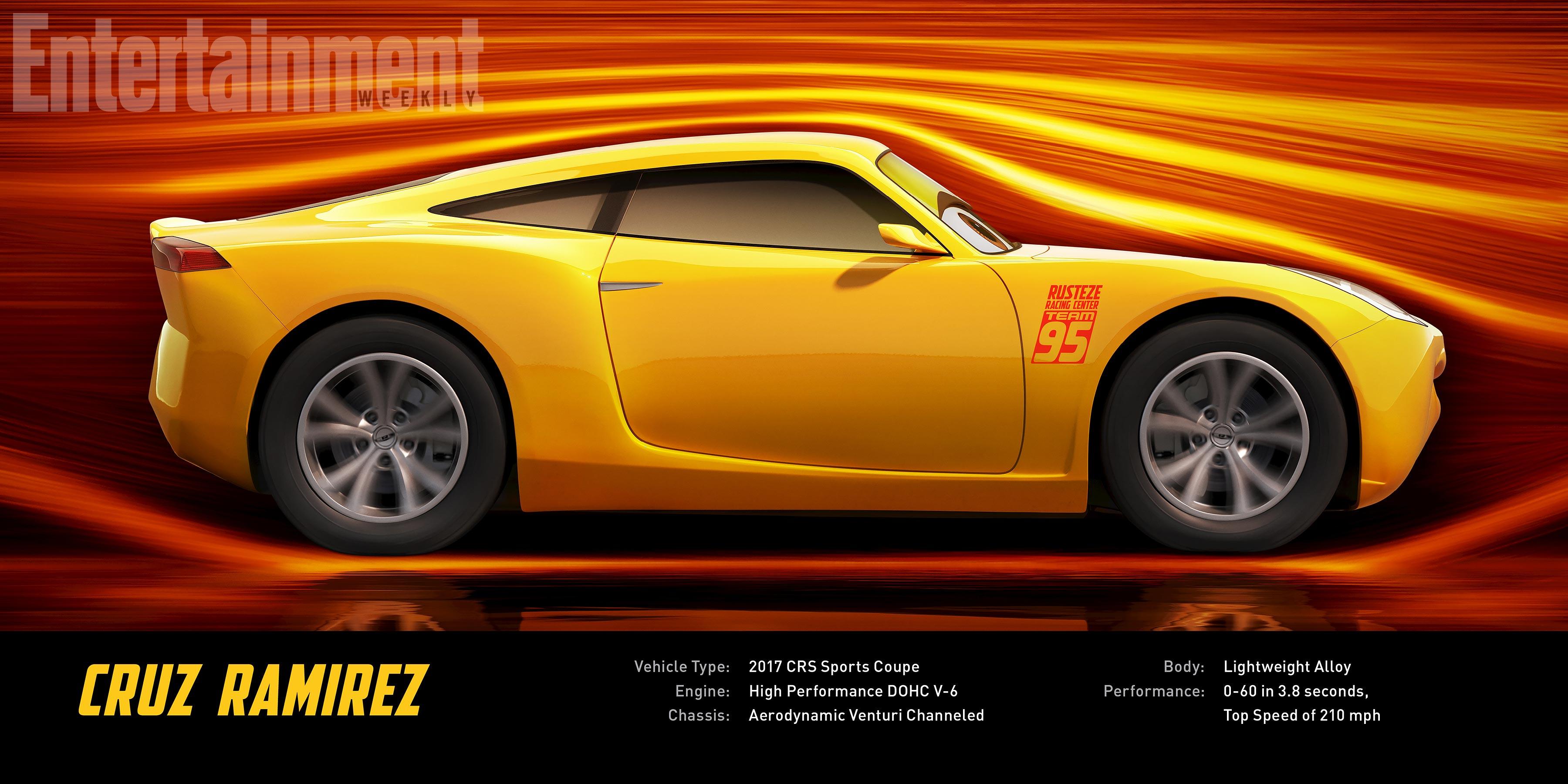 Cars 3: un'immagine di Cruz Ramirez