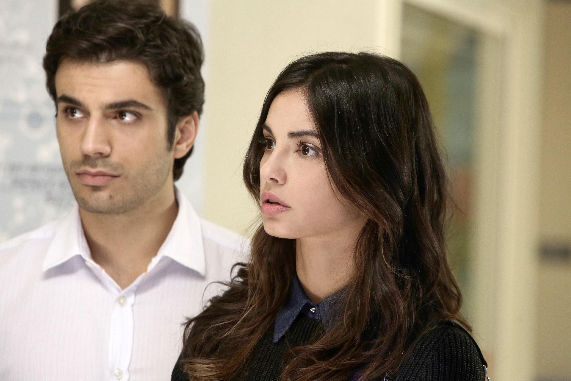 Che Dio ci aiuti: Gianmarco Saurino e Francesca Chillemi in una foto della serie