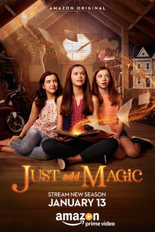 Just Add Magic: la locandina della seconda stagione