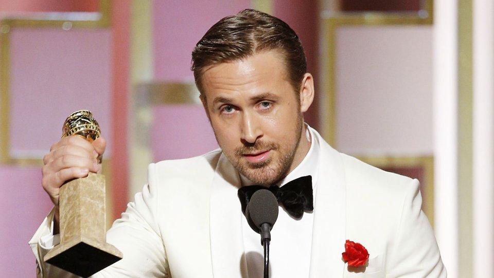 Golden Globes 2017: Ryan Gosling premiato per La La Land