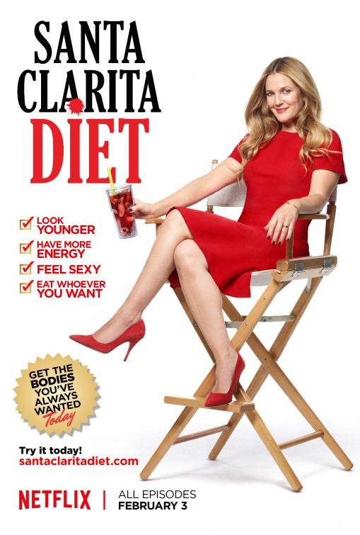 Santa Clarita Diet: il manifesto della serie