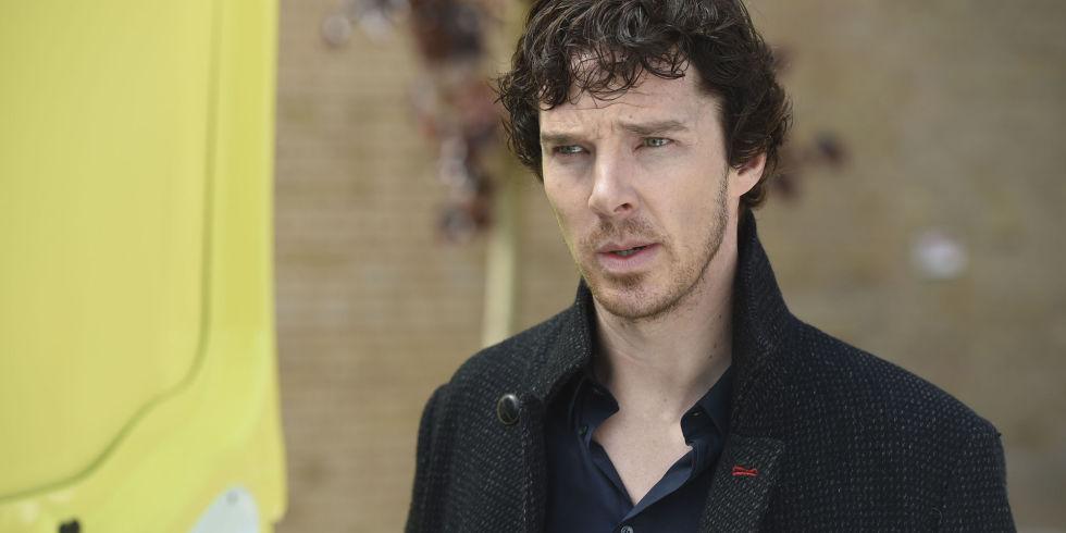 Sherlock: il protagonista Benedict Cumberbatch in The Lying Detective