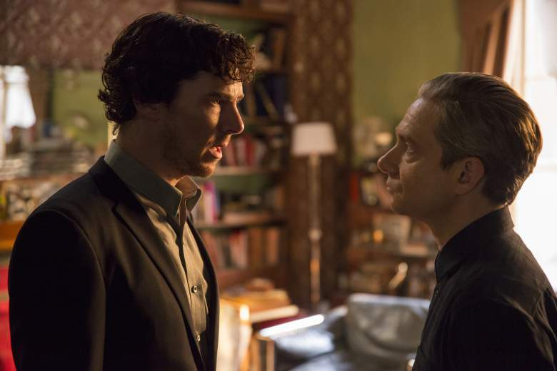 Sherlock: Benedict Cumberbatch e Martin Freeman in The Lying Detective