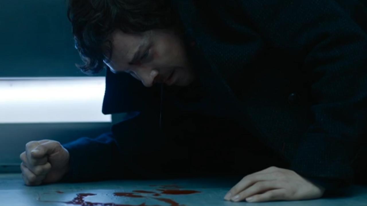 Sherlock: un'immagine di Benedict Cumberbatch in The Lying Detective
