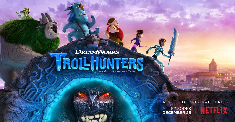 Trollhunters: work art per la prima stagione della serie