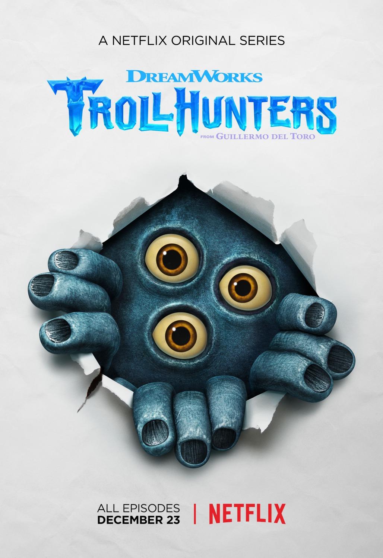 Trollhunters: un manifesto per la prima stagione