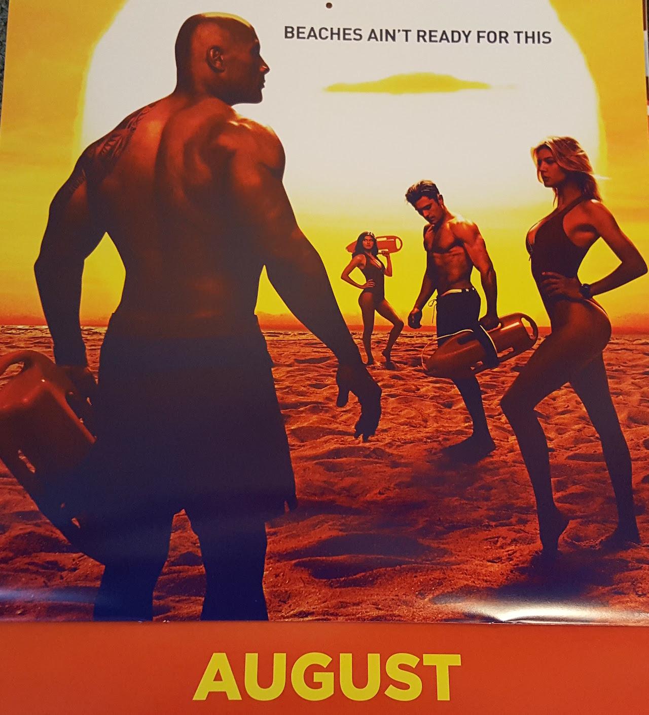 Baywatch: un'immagine tratta dal calendario 2017