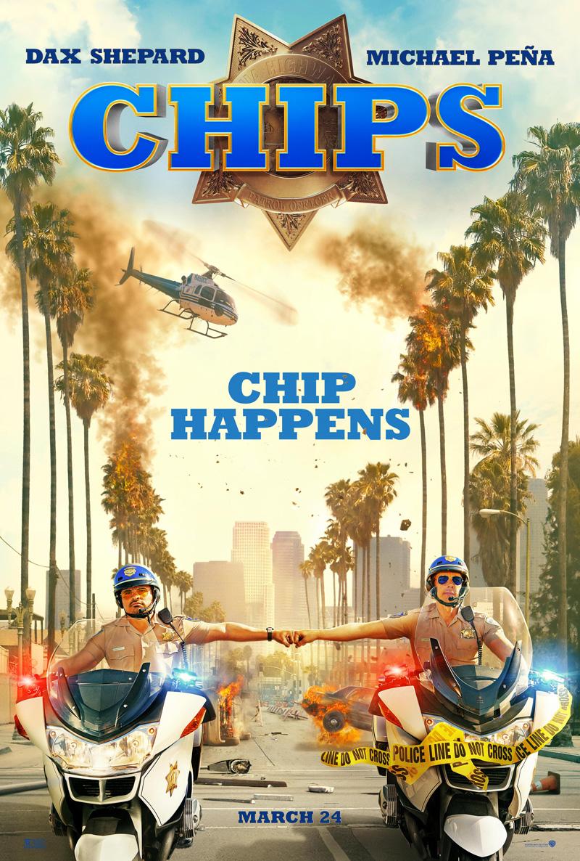 CHiPs: un nuovo poster del film