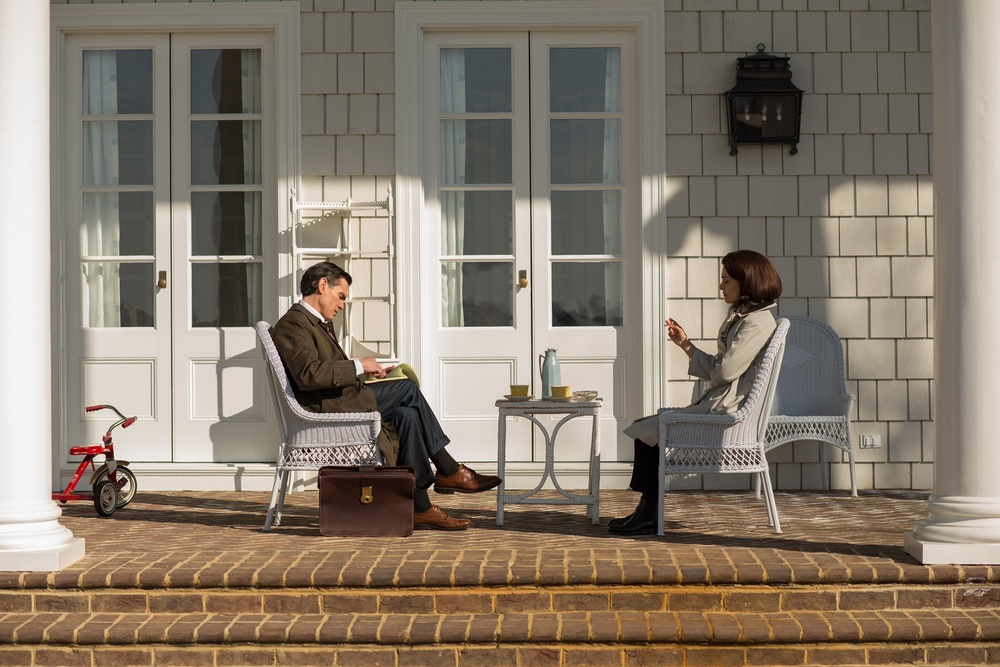 Jackie: Billy Crudup e Natalie Portman in una scena del film