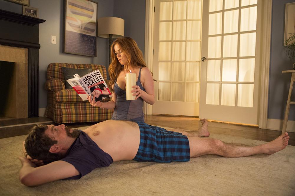Le spie della porta accanto: Zach Galifianakis e Isla Fisher in una scena del film