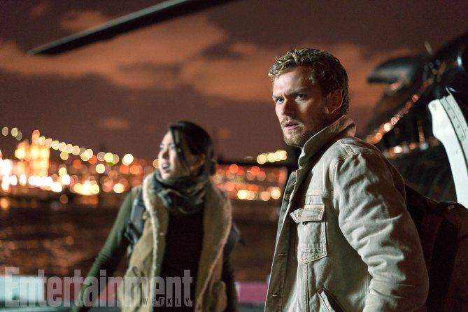 The Defenders: Finn Jones in una foto della serie