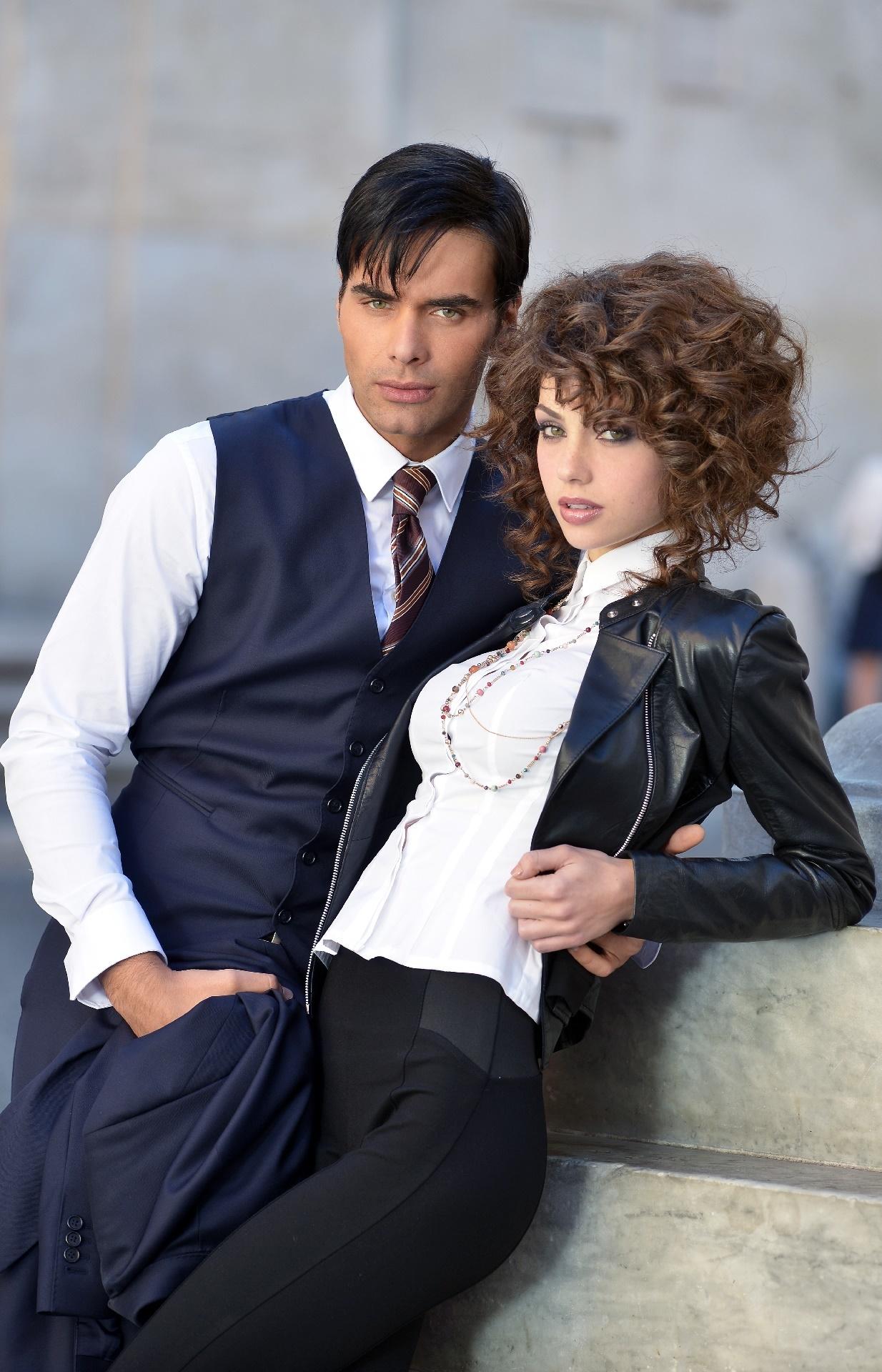 Il bello delle donne: Massimiliano Morra e Adua Del Vesco