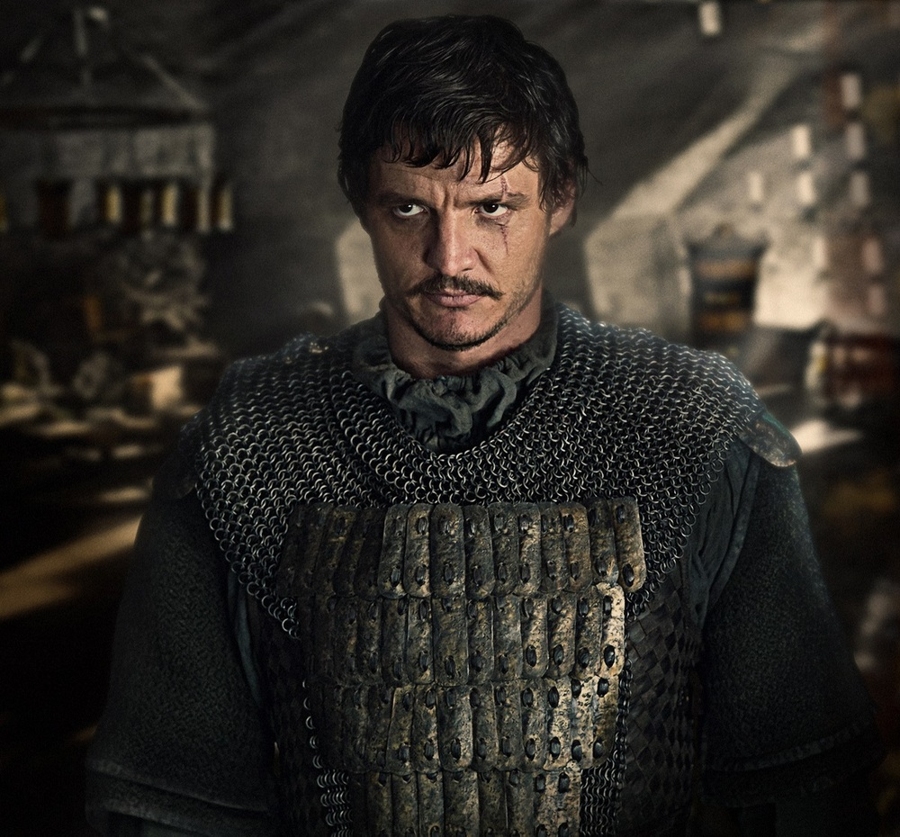 The Great Wall: Pedro Pascal in una scena del film