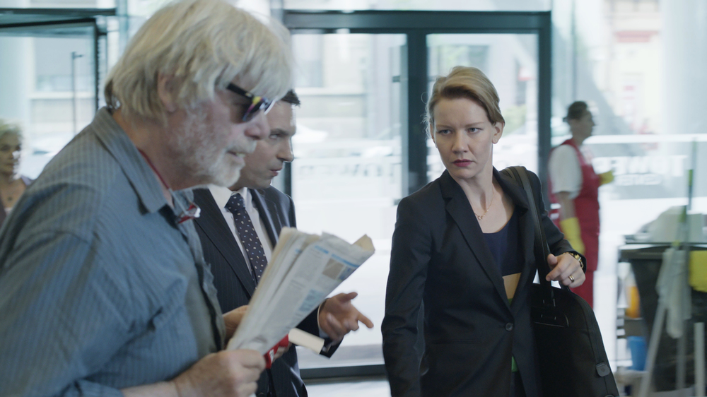 Vi presento Toni Erdmann: Sandra Hüller e Peter Simonischek in un'immagine del film