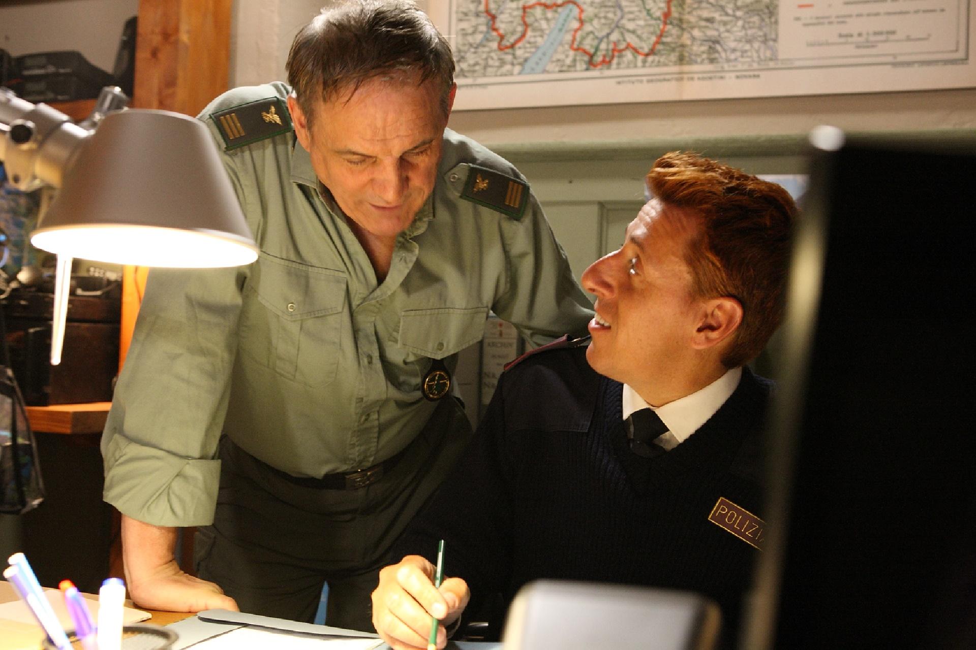 Un passo dal cielo: Francesco Salvi in un'immagine della quarta stagione