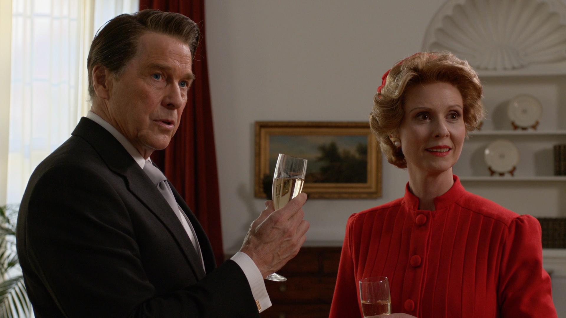 Killing Reagan: Tim Matheson e Cynthia Nixon interpretano i coniugi Reagan