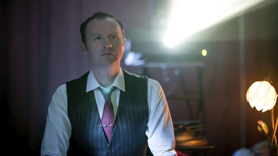 Sherlock: Mark Gatiss in The Final Problem