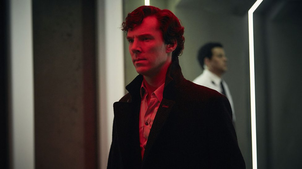 Sherlock: il protagonista Benedict Cumberbatch in The Final Problem