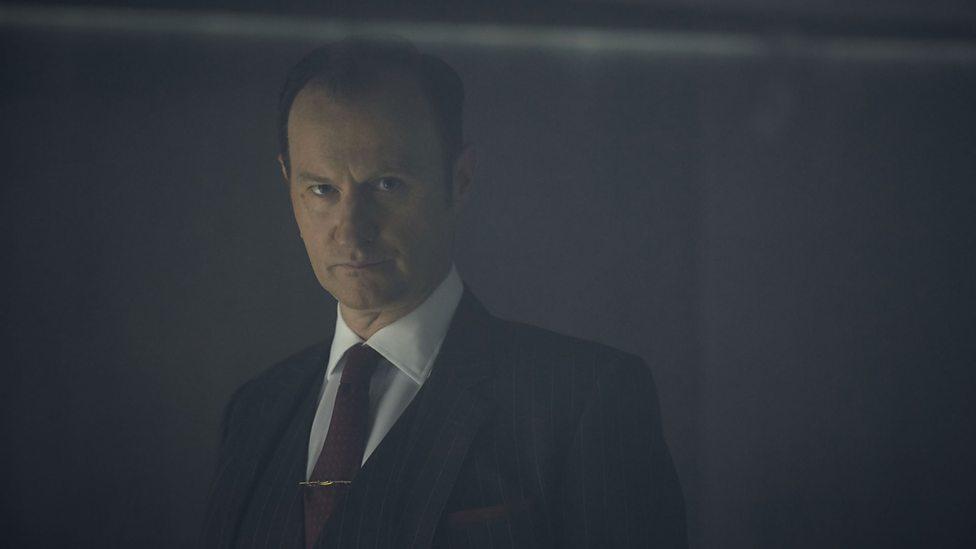 Sherlock: Mark Gatiss in The Final Problem