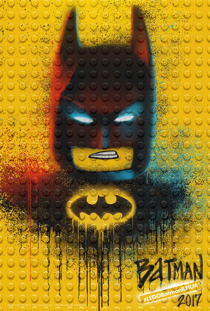 LEGO Batman: Il Film - Il character poster di Batman