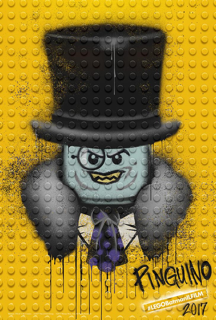LEGO Batman: Il Film - Il character poster del Pinguino