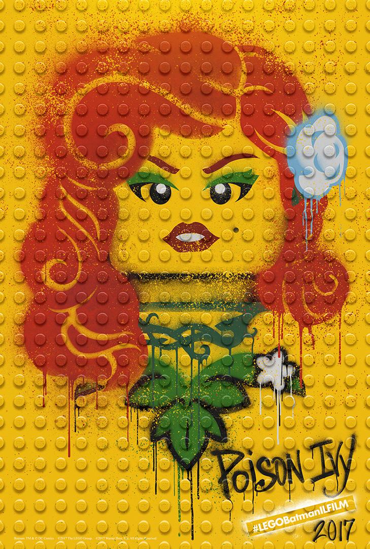 LEGO Batman: Il Film - Il character poster di Poison Ivy