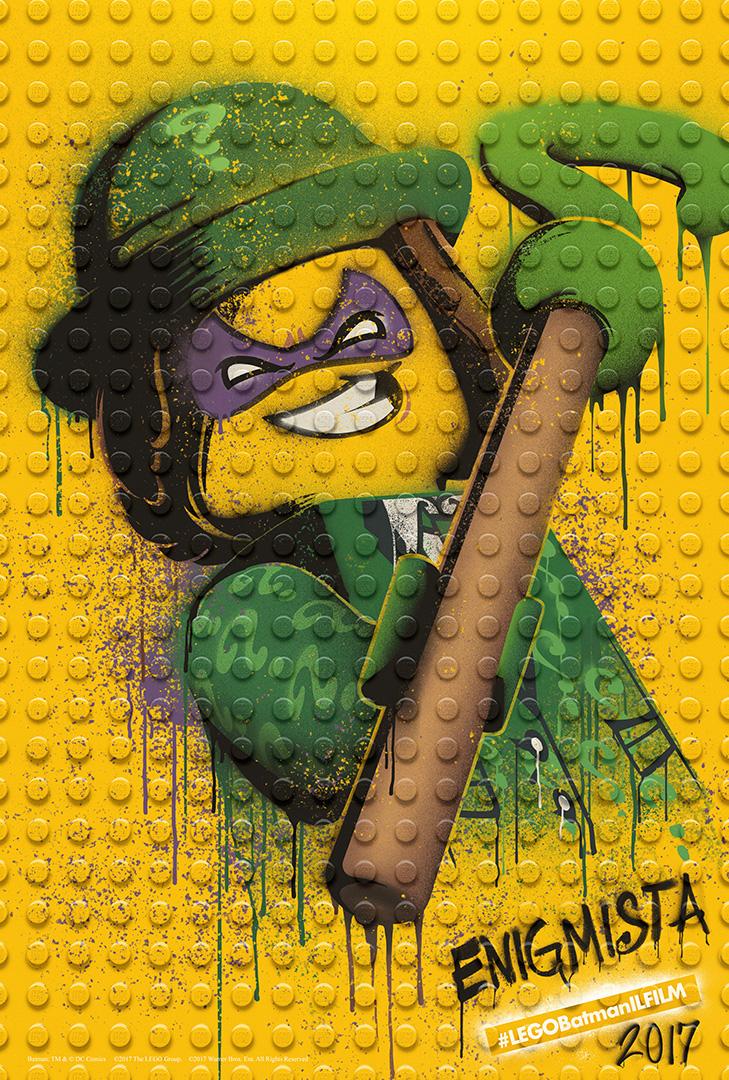 LEGO Batman: Il Film - Il character poster dell'Enigmista