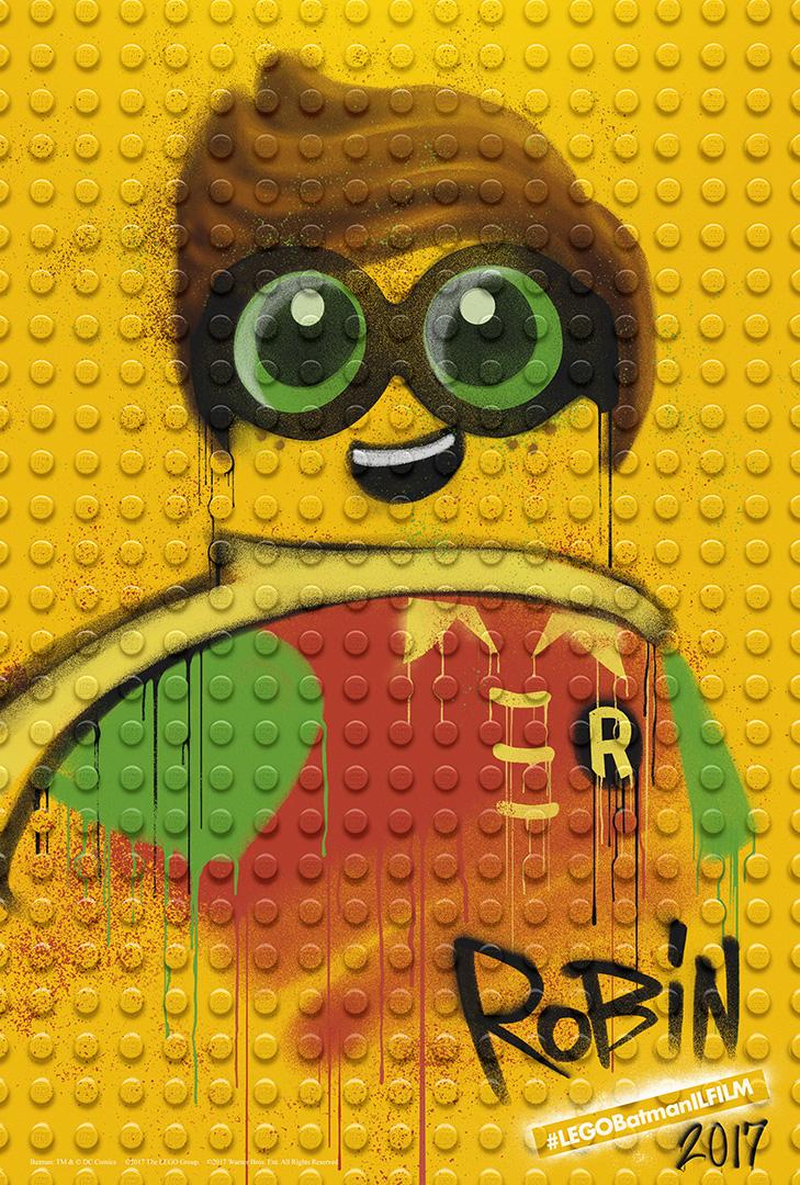 LEGO Batman: Il Film - Il character poster di Robin