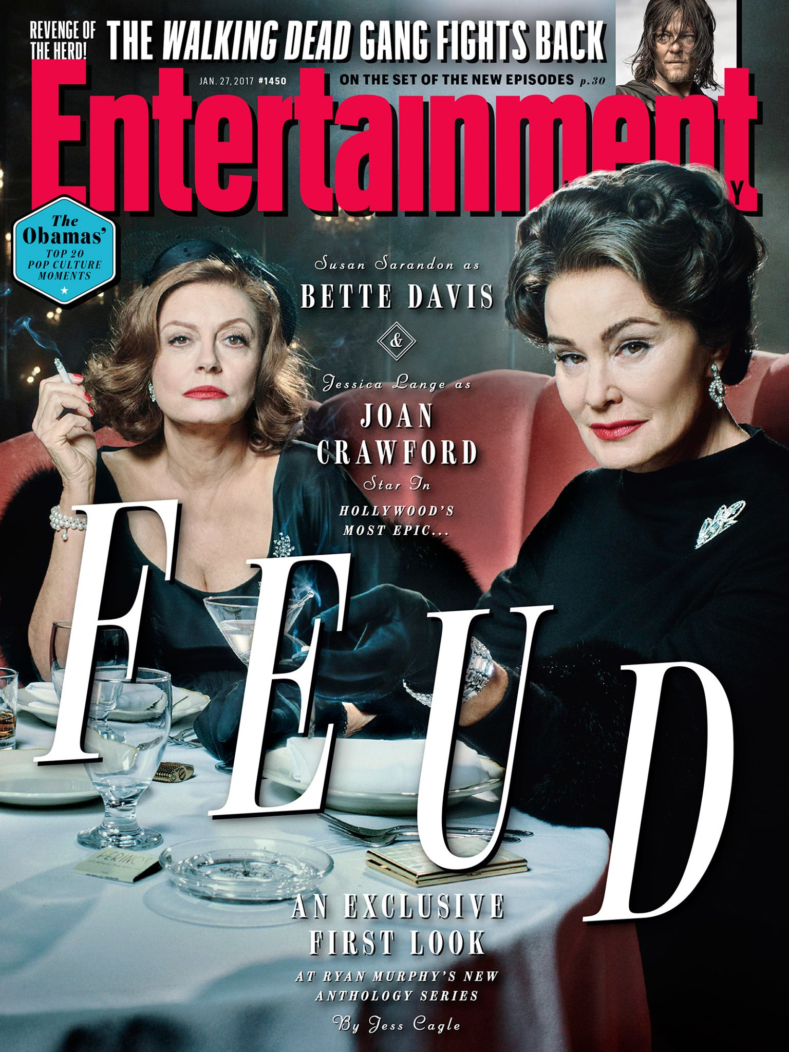 Feud: la copertina di Entertainment Weekly
