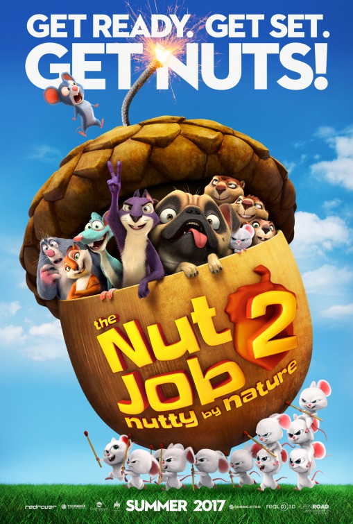 Nut Job 2: la locandina del film