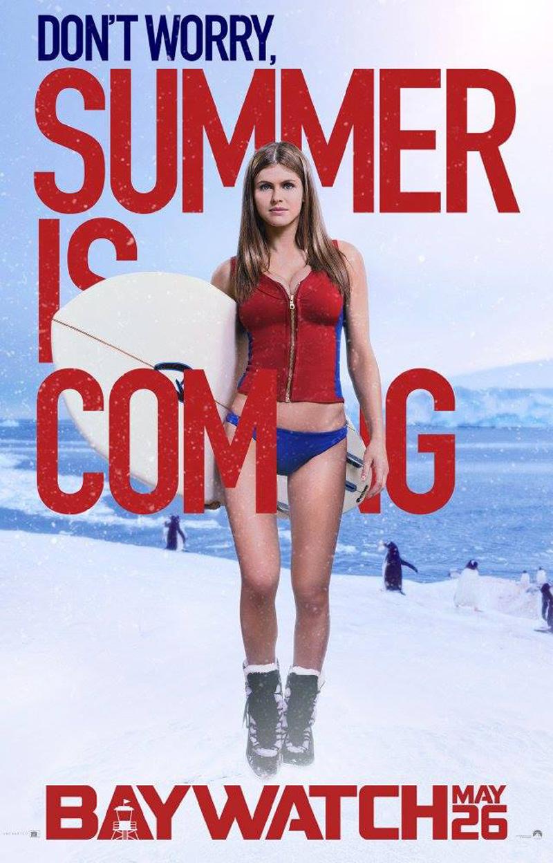 Baywatch: il character poster di Alexandra Daddario