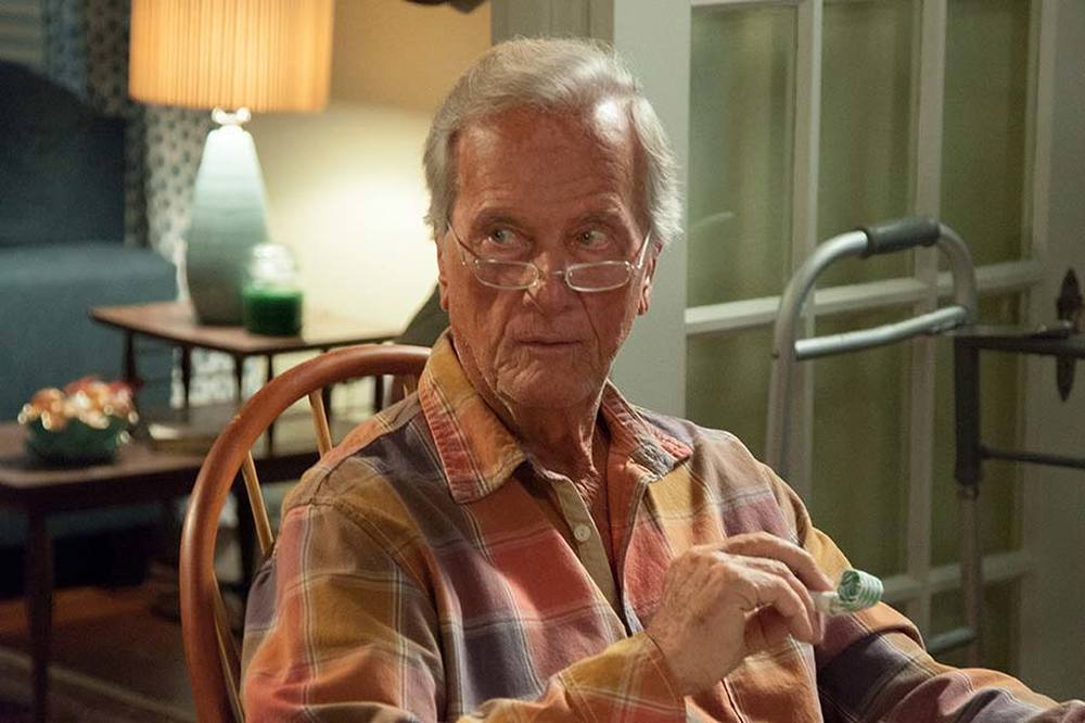 God's Not Dead 2: Pat Boone in una scena del film