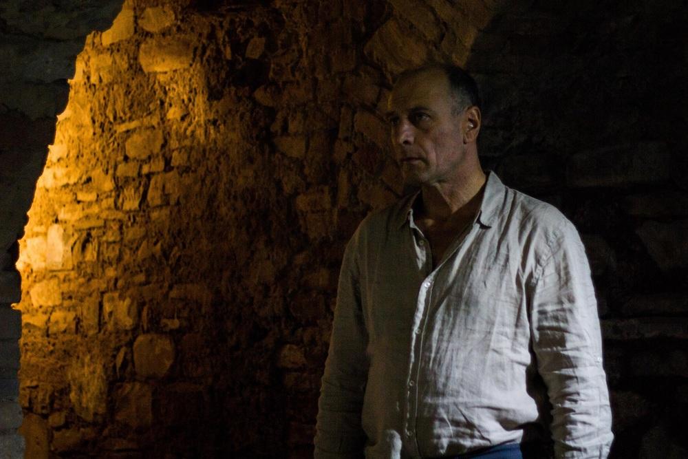 Vista mare: Arturo Di Tullio in un momento del film