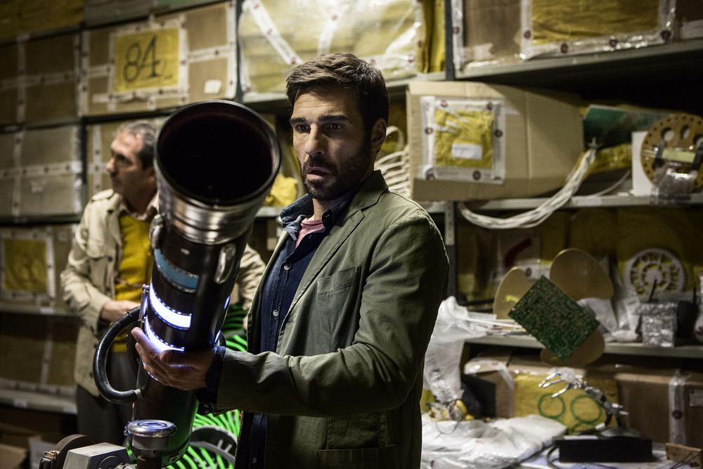 Smetto quando voglio - Masterclass: Edoardo Leo e Paolo Calabresi in un momento del film