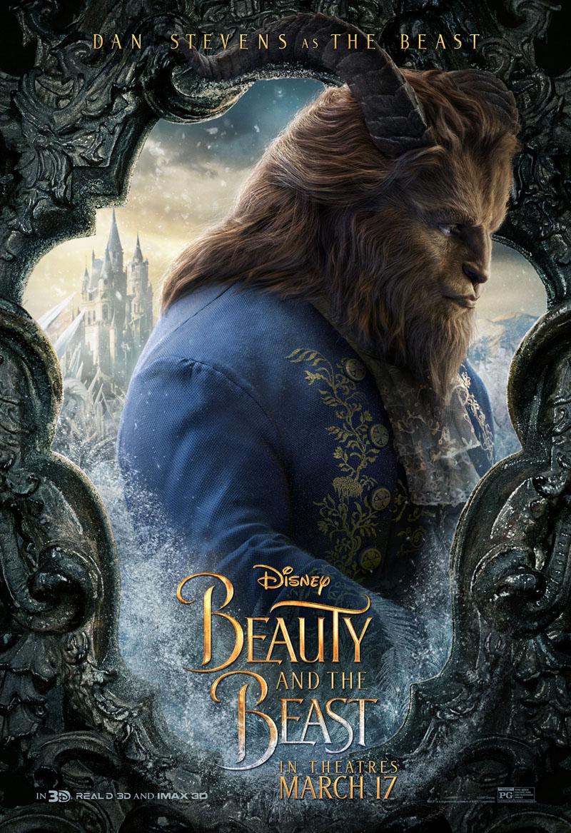 La Bella e la Bestia: il character poster della Bestia