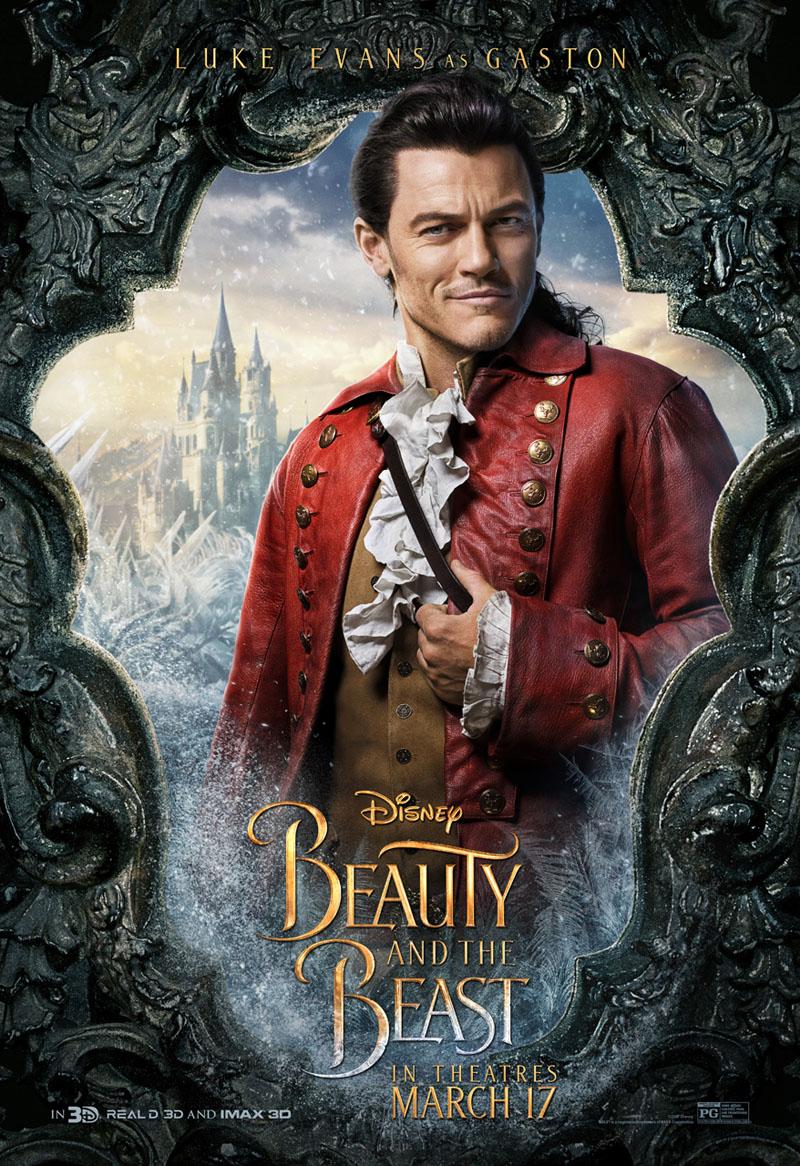 La Bella e la Bestia: il character poster di Luke Evans