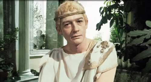 John Hurt in I, Claudius