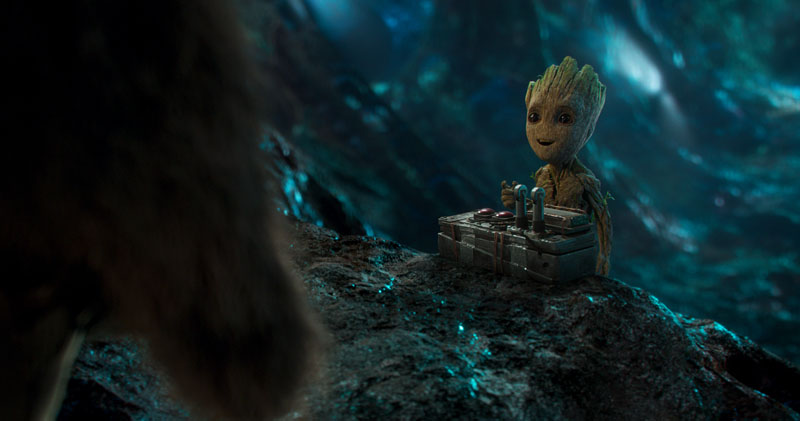 Guardiani della Galassia Vol. 2: l'adorabile Baby Groot