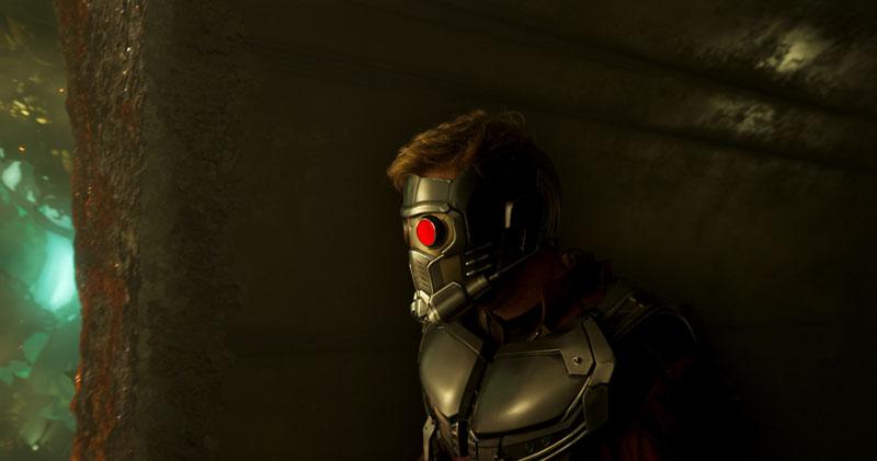 Guardiani della Galassia Vol. 2: Chris Pratt in una scena del film