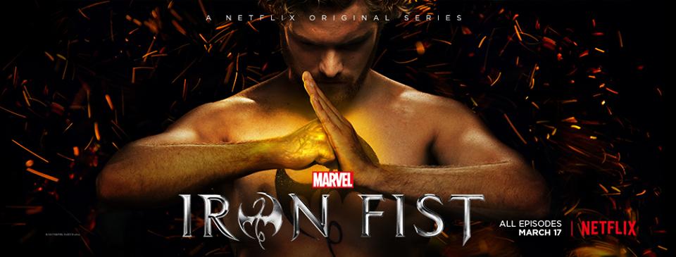 Iron Fist: Finn Jones nel banner dello show