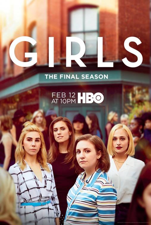 Girls: la locandina dell'ultima stagione