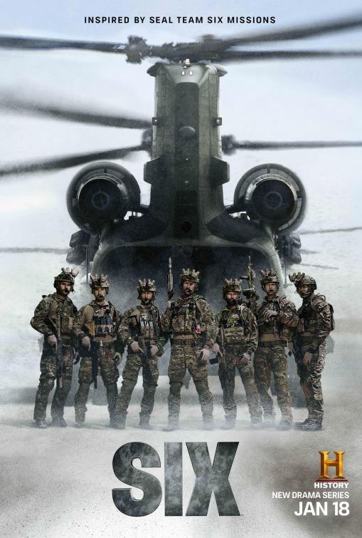 Six: un poster per la prima stagione