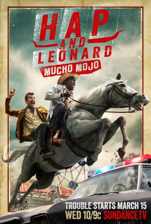 Hap and Leonard: il poster della seconda stagione