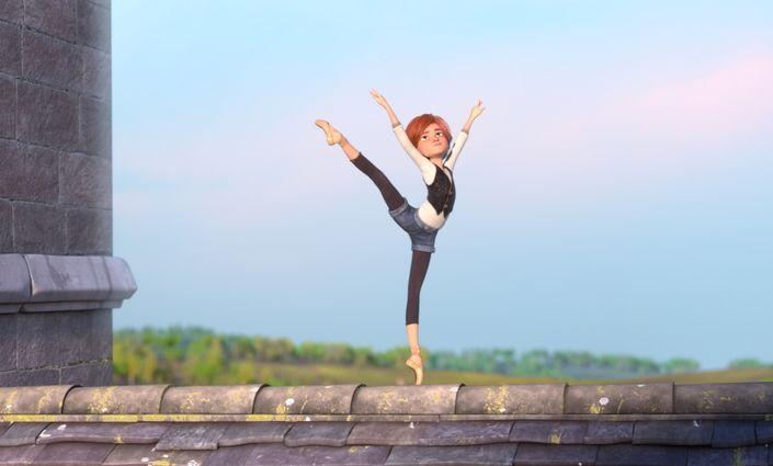 Ballerina: un'immagine del film d'animazione
