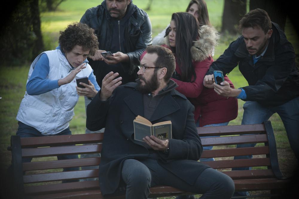 Beata ignoranza: Marco Giallini in una scena del film