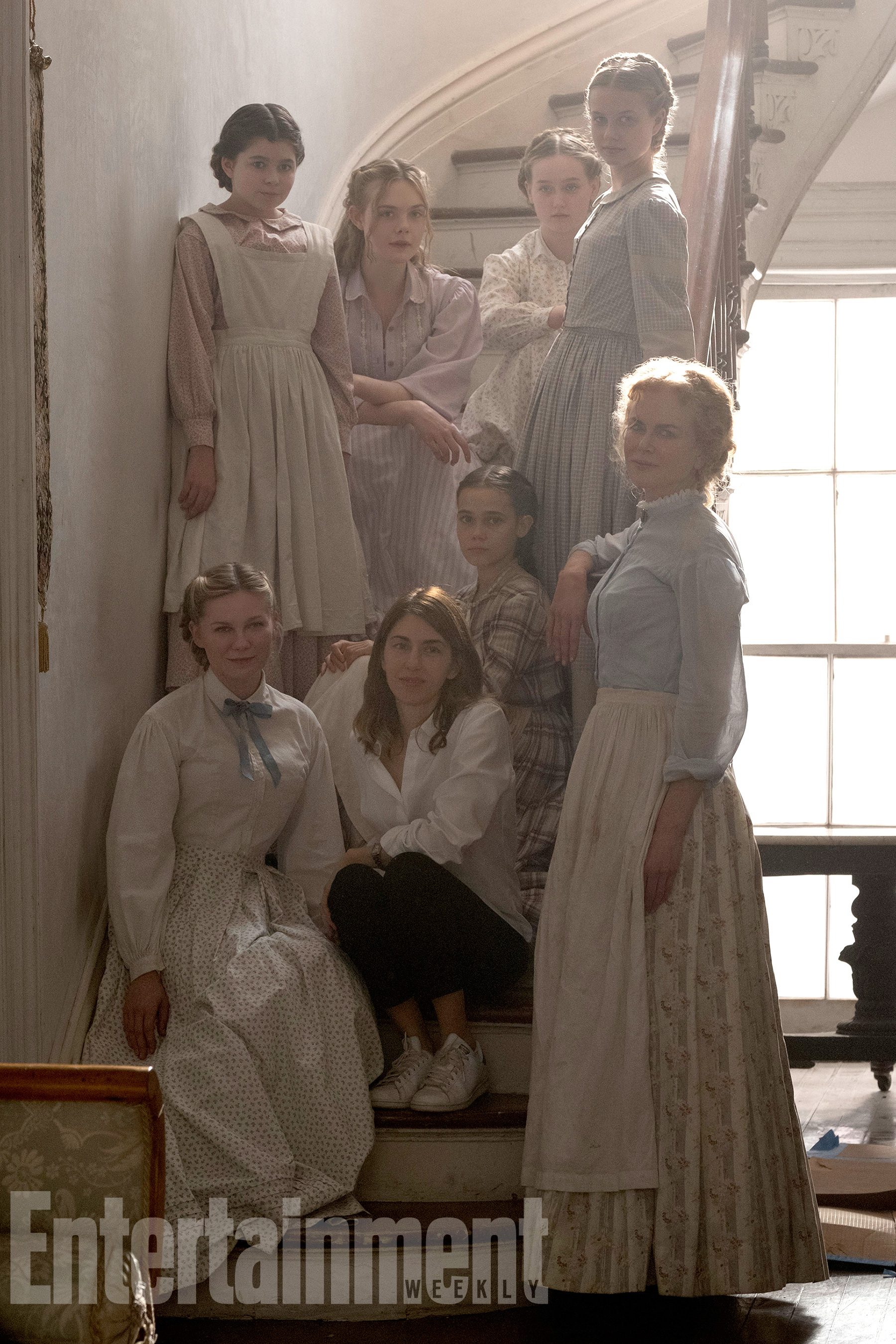 The Beguiled: le protagoniste con Sofia Coppola