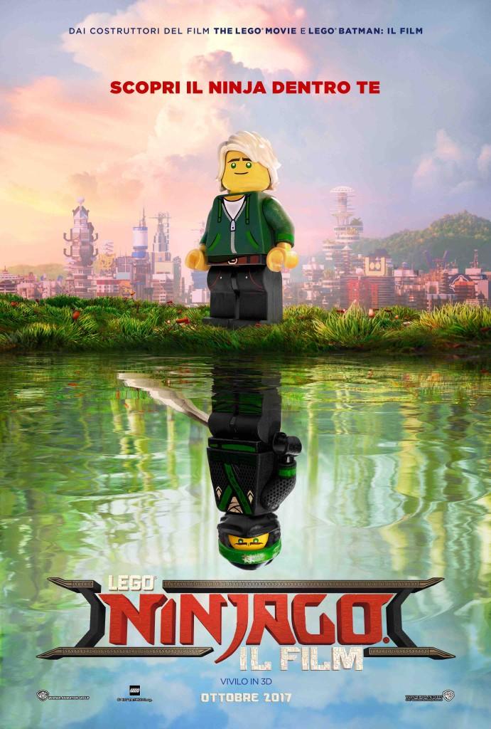 LEGO Ninjago - Il Film: il poster del lungometraggio